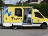 Güttingen TG - Velofahrer nach Unfall mit Auto verletzt