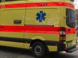 Sursee LU - Velofahrer bei Unfall gegen Windschutzscheibe geschleudert