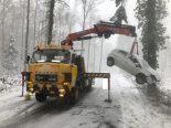 Unfall in Stetten