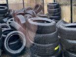Über 300 alte Fahrzeugreifen illegal in Cham (ZG) entsorgt