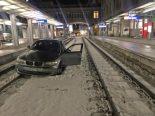 St.Gallen - Mit 1,52 Promille auf Bahngleise gefahren