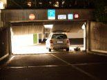 Unfall Baar ZG - Auto macht sich selbständig