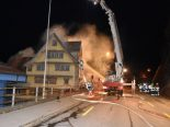 Lichtensteig SG - Haus in Brand geraten
