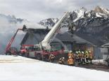 Flumserberg SG - Wohnhaus in Brand geraten