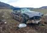 Unfall Hendschiken AG - BMW-Lenker verliert Herrschaft über Fahrzeug