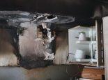Brand in Gams SG - Pfanne fängt Feuer
