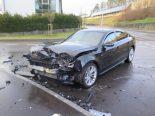 Verkehrsunfall Giebenach BL - Zwei Lenker hospitalisiert