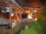 Hochdorf LU - Gartenlaube in Brand