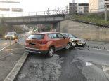 Verkehrsunfall in Neuhausen am Rheinfall SH