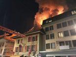 Payerne VD - Evakuierung von zwei Gebäuden