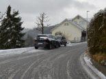 Verkehrsunfall Trogen AR - Auf Gegenfahrbahn gerutscht