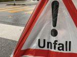 Schaffhausen SH - Verunfallt: Hinterrad prallt frontal gegen Auto