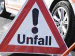 Cham ZG - Fahrradfahrer entfernt sich von Unfallstelle