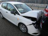 Unfall Bilten GL - Auffahrkollision mit 6 Personenwagen