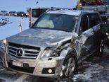 Fünf Verletzte nach Unfall in Ricken SG