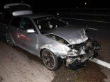 Rorschacherberg SG - Unfall beim Fahrstreifenwechsel