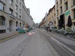 St.Gallen - Streifkollision zwischen zwei Lieferwagen