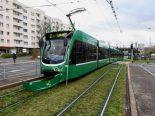 Basel - Unfall zwischen Tram und Velofahrer