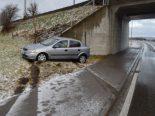 Herisau AR - Bei Selbstunfall gegen Hydranten geprallt