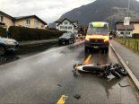 Schattdorf UR - Motorradfahrer bei Verkehrsunfall erheblich verletzt