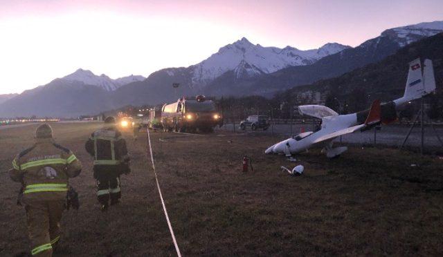 Sion VS - Flugzeugabsturz