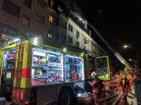 Brand in Zürich - Grosseinsatz von Feuerwehr und Sanität