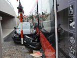 Teufen AR - Heftiger Unfall mit Appenzeller Bahn