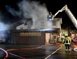 Brand in Ebnat-Kappel SG - 90 Feuerwehrleute im Einsatz