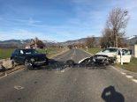 Reichenburg SZ - Sechs Personen bei Verkehrsunfall verletzt