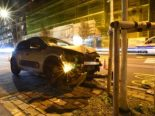 Basel-Stadt BS - Lenker (37) verursacht Selbstunfall