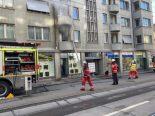 Zürich ZH - Person vor Feuer gerettet
