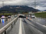 Vorsicht auf der Autobahn A4 Zug ZG - Mehrere Verkehrsunfälle