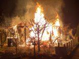 Rotkreuz ZG - Gartenhaus vollständig niedergebrannt