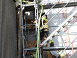 Uzwil SG - Brand auf Baustelle