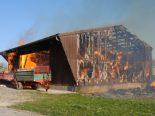 Neunkirch SH - Scheune komplett niedergebrannt