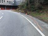 Unfall Engelburg SG- Fahrunfähiger Lenker von Fahrbahn abgekommen