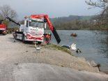 Flucht vor Polizei in Reuss gelandet