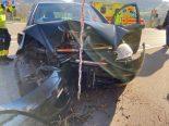Unfall Füllinsdorf BL - Autofahrer prallt in Baum