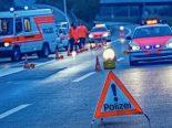 Wängi TG - Selbstunfall auf der Autobahn A1
