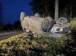 Unfall Lenzburg AG - Auto überschlägt sich mehrfach