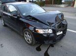 Unfall Niederurnen GL - Wagen prallt in parkiertes Auto