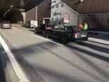 St.Gallen SG - Vier Fahrzeuge an Auffahrunfall auf A1 beteiligt