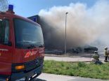 Lüsslingen SO - Gebäude in Brand geraten