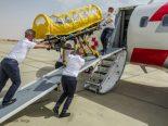 Coronavirus - Schwerkranke Person aus Ägypten repatriiert