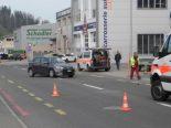 Einsiedeln SZ - Motorradlenker bei Verkehrsunfall verletzt