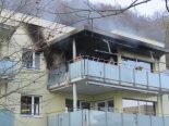 Brugg-Lauffohr AG - Balkon in Brand geraten