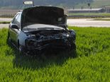 Verkehrsunfall Guntmadingen SH - Autolenkerin (35) übersieht vortrittsberechtigten PW