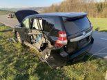Lengnau AG - Heftiger Unfall zwischen zwei Autos