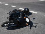 Berneck SG - Rollerfahrerin nach Selbstunfall im Spital