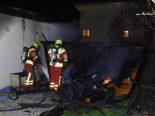 Sevelen SG - 18 Wachteln bei Gartenhausbrand gestorben
